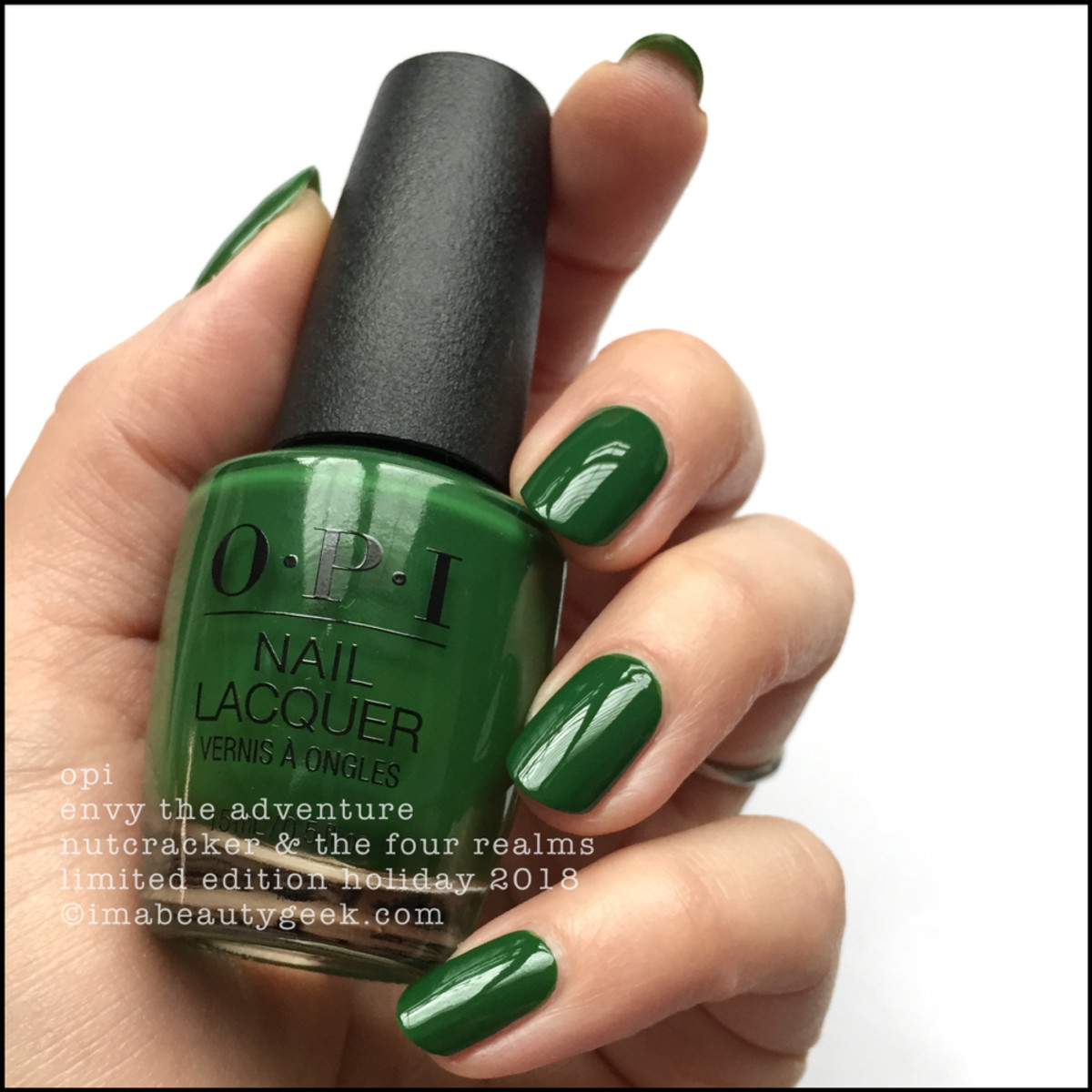 OPI Envy The Adventure - OPI Nutcracker Holiday 2018