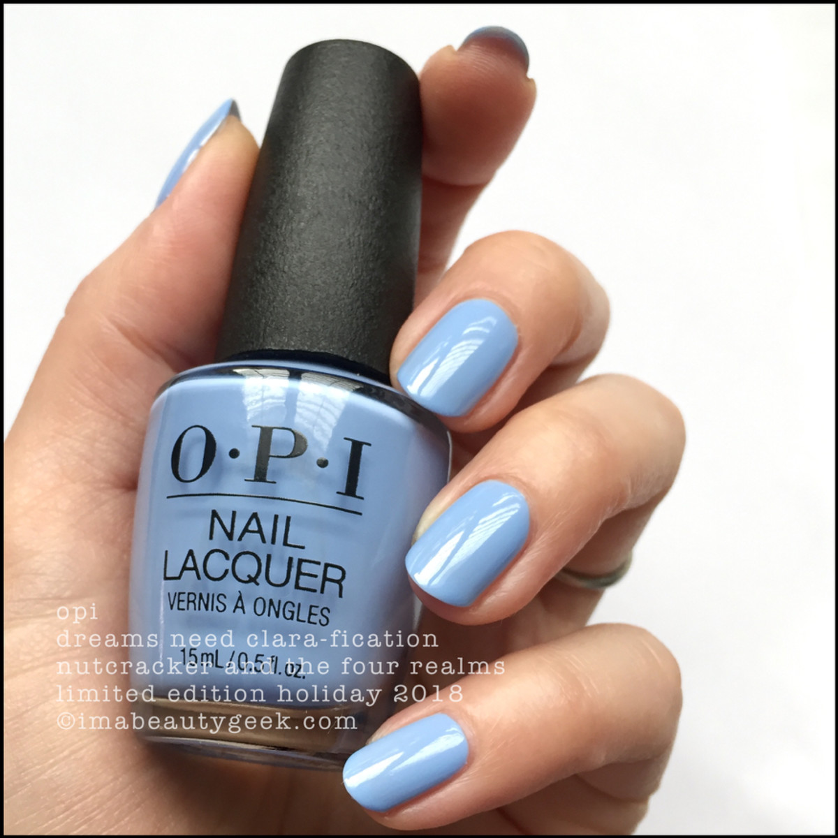 OPI Dreams Need Clara-fication - OPI Nutcracker Holiday 2018