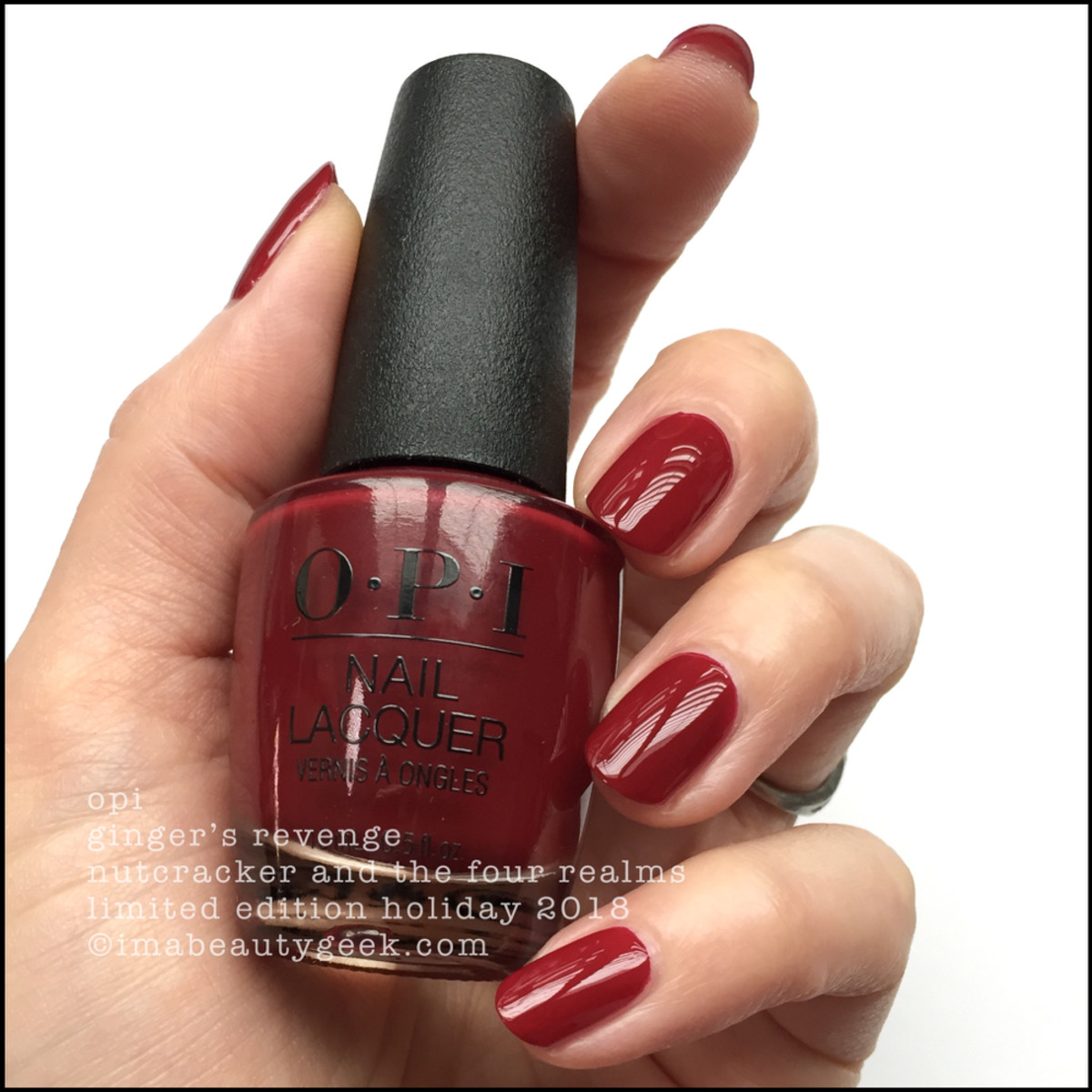 OPI Ginger's Revenge - OPI Nutcracker Holiday 2018