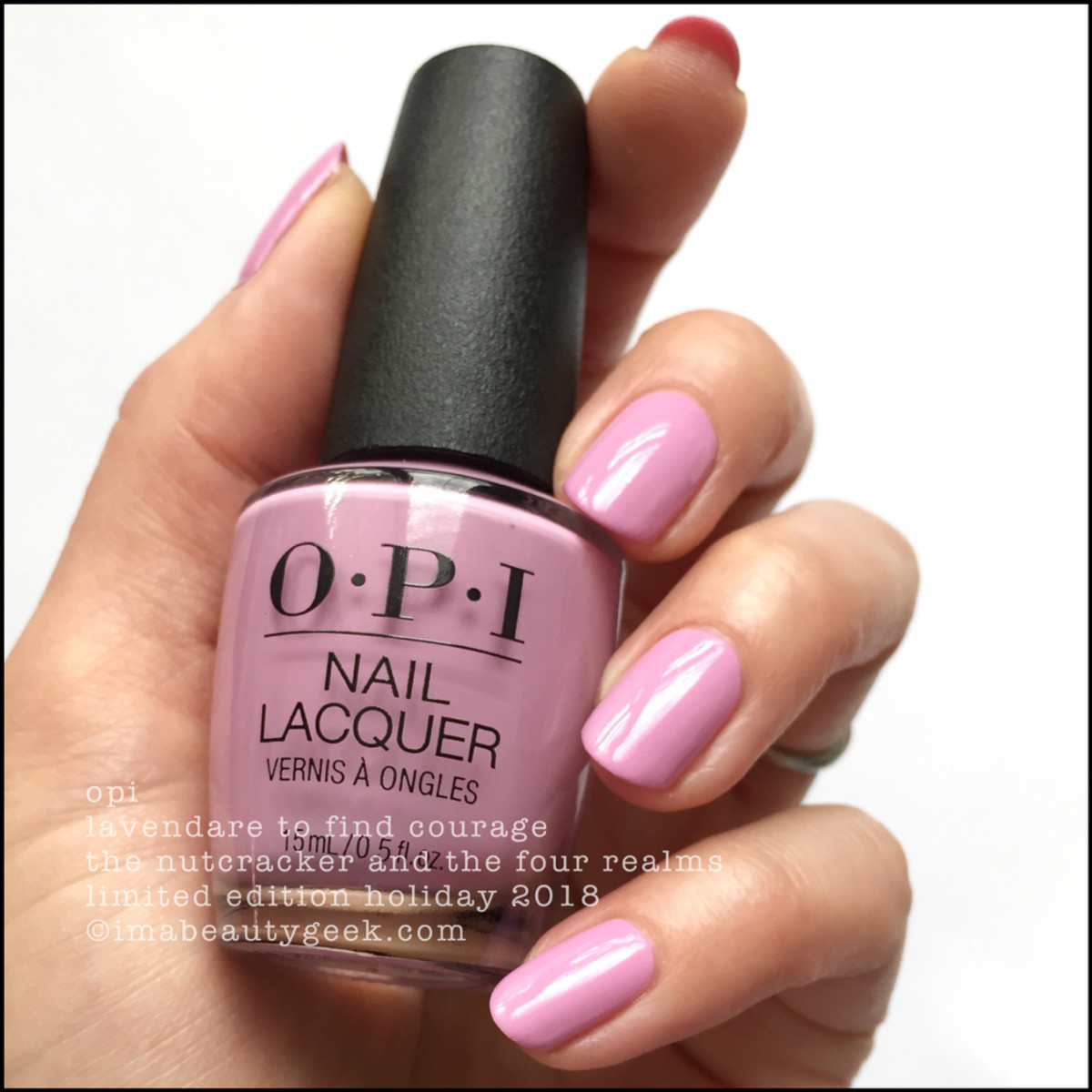 OPI Lavendare to Find Courage - OPI Nutcracker Holiday 2018
