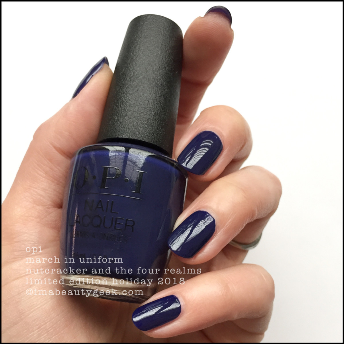 OPI March In Uniform - OPI Nutcracker Holiday 2018