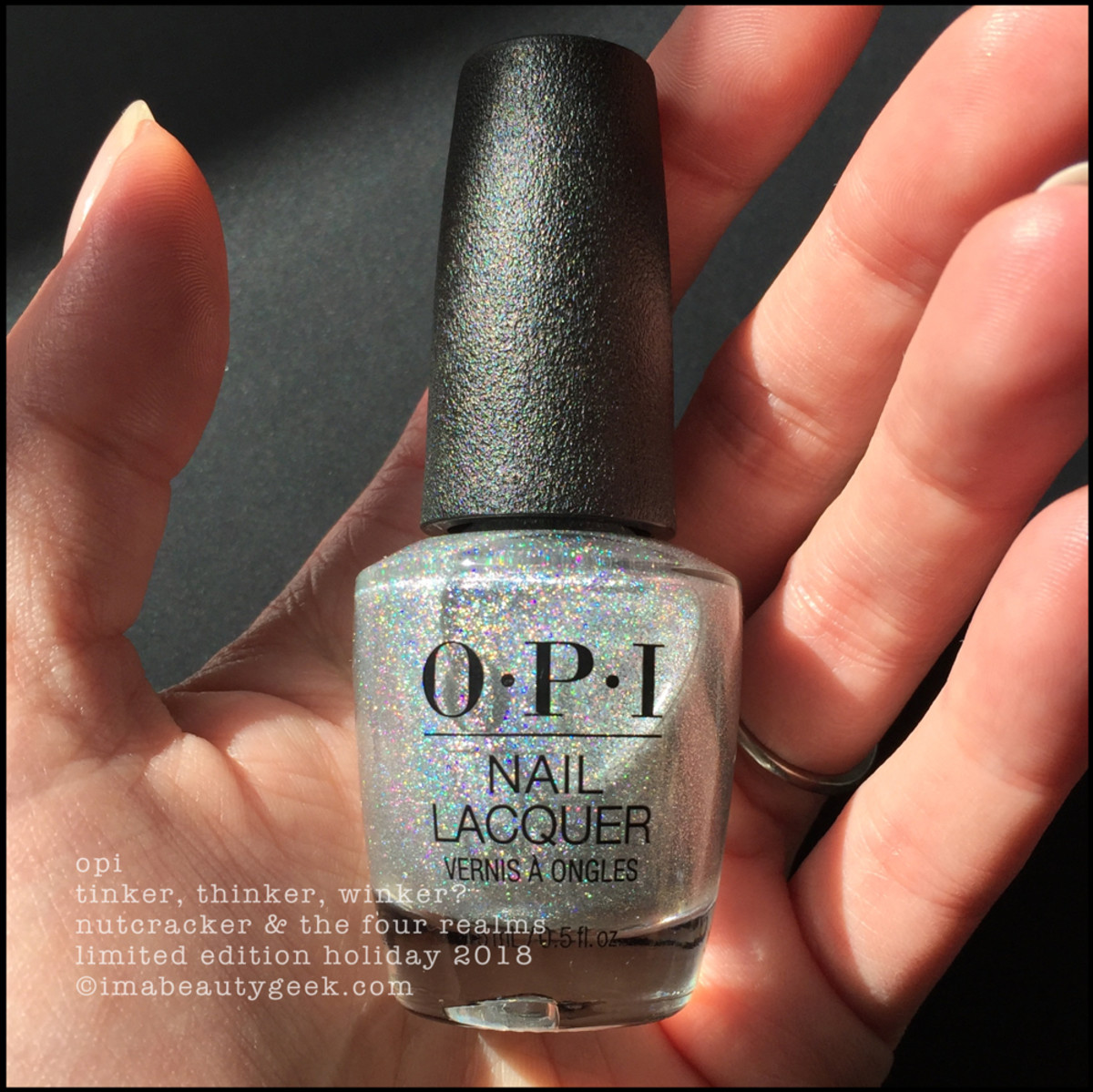 OPI Tinker, Thinker, Winker? - OPI Nutcracker Holiday 2018