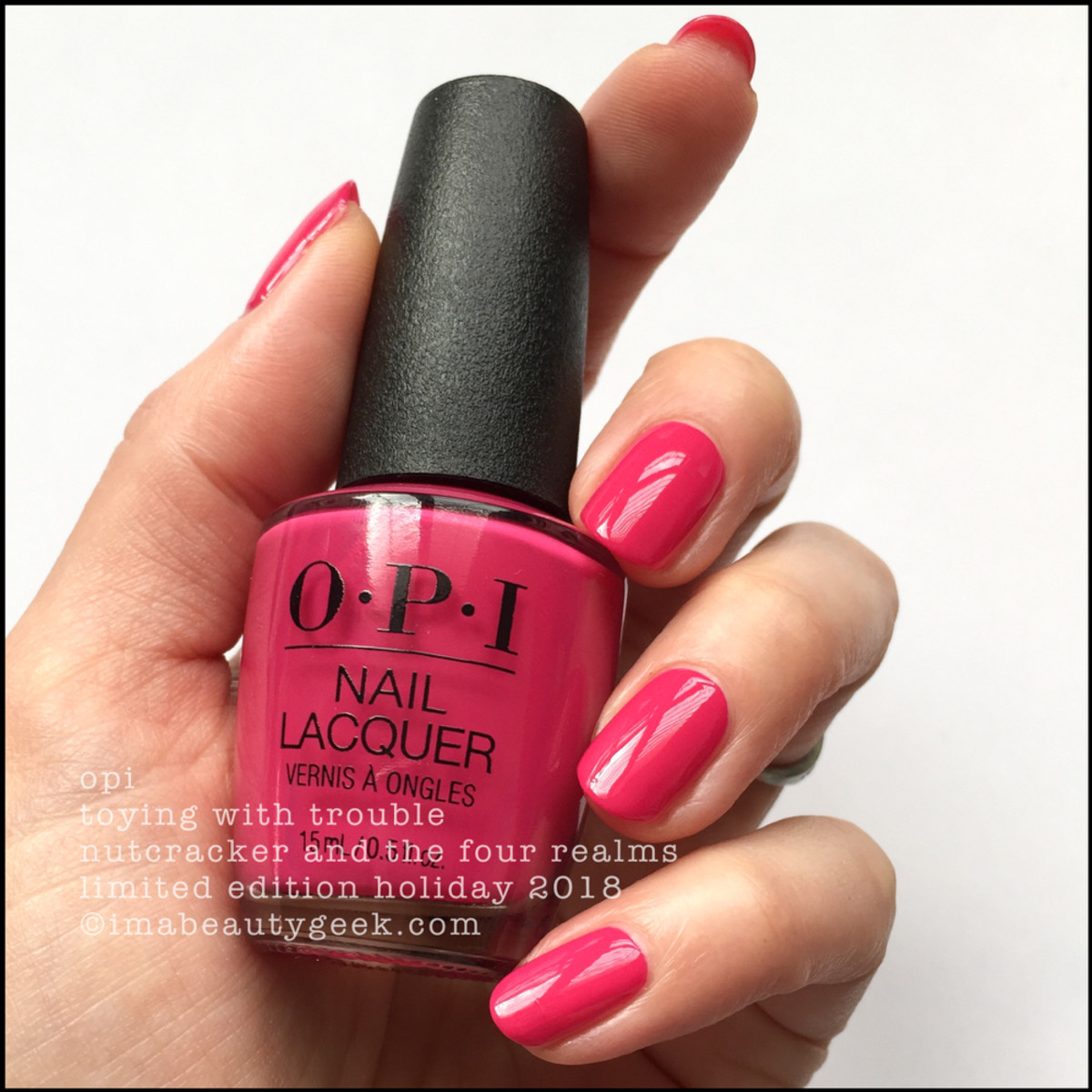 OPI Toying with Trouble - OPI Nutcracker Holiday 2018
