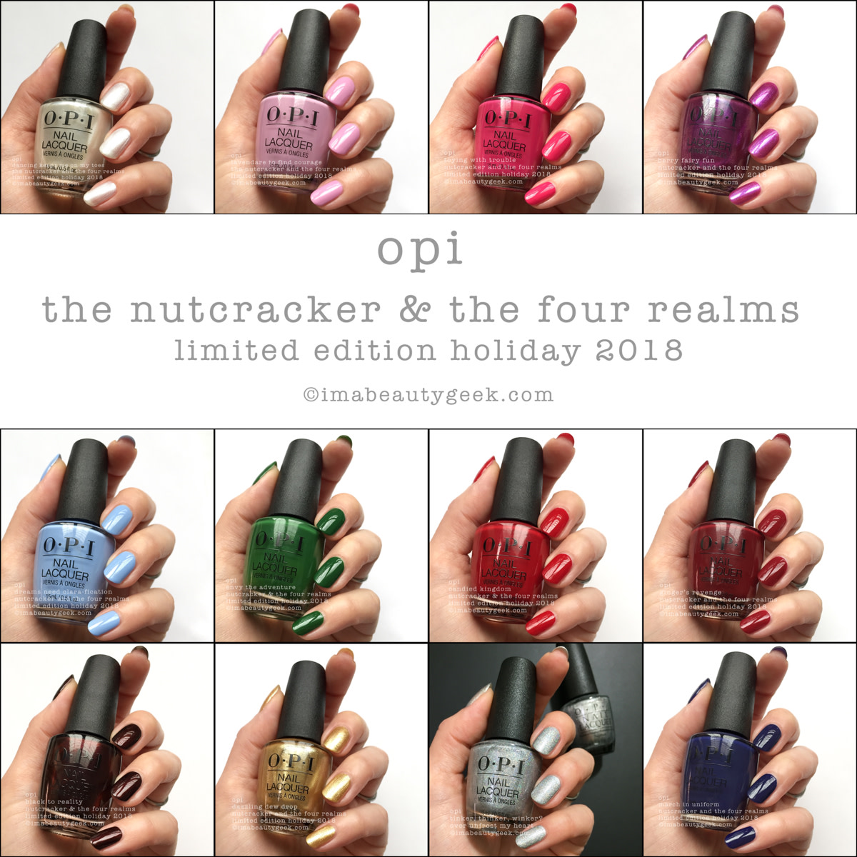 OPI Nutcracker & the 4 Realms Beautygeeks Composite
