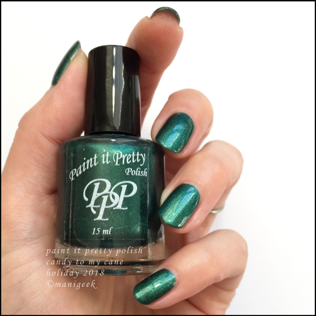 Paint it Pretty Polish Candy to my Cane - Holiday 2018 Collection