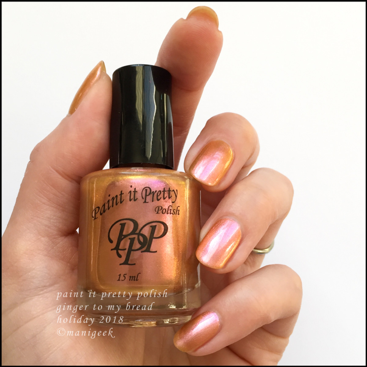 Paint it Pretty Polish Ginger to my Bread- Holiday 2018 Collection
