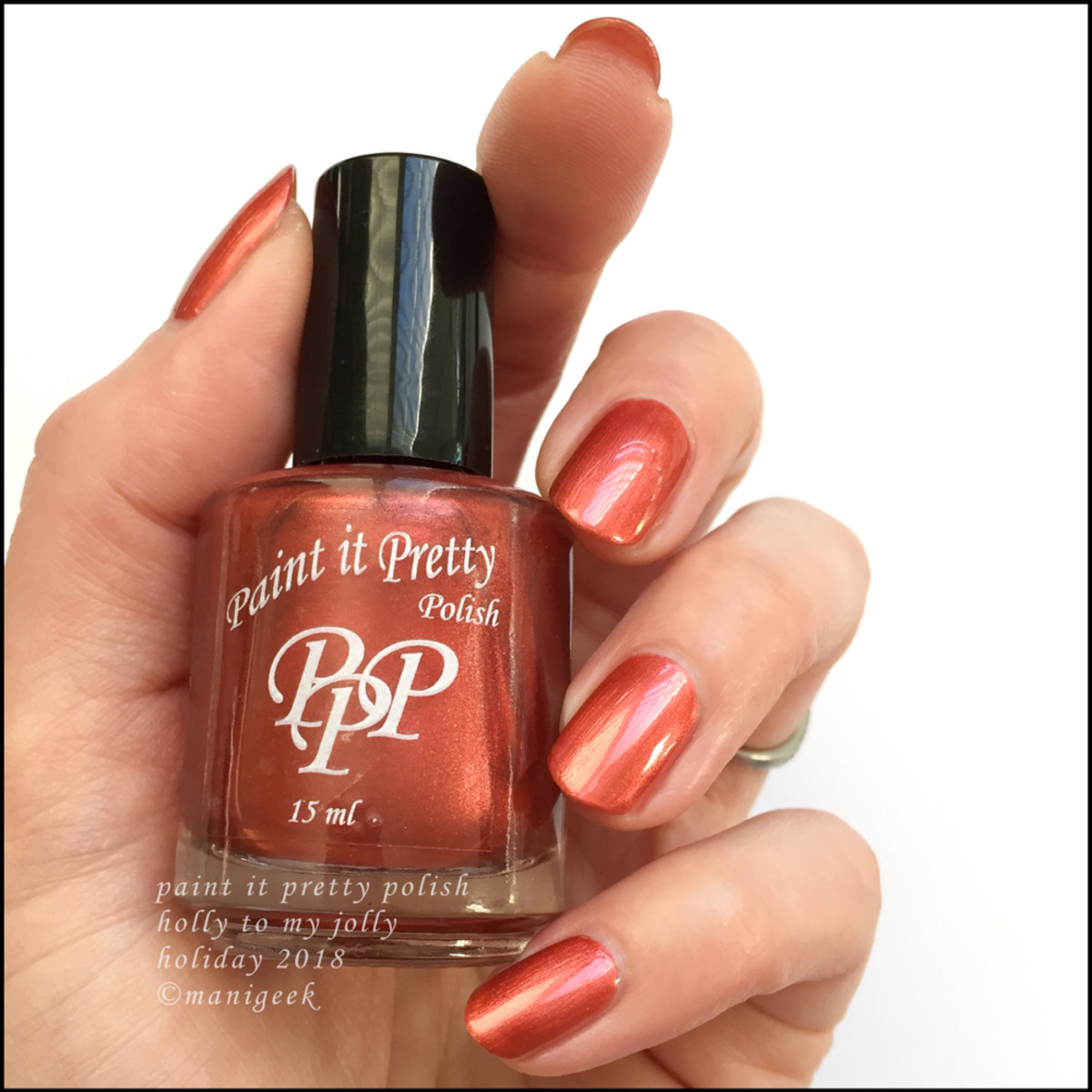 Paint it Pretty Polish Holly to my Jolly - Holiday 2018 Collection