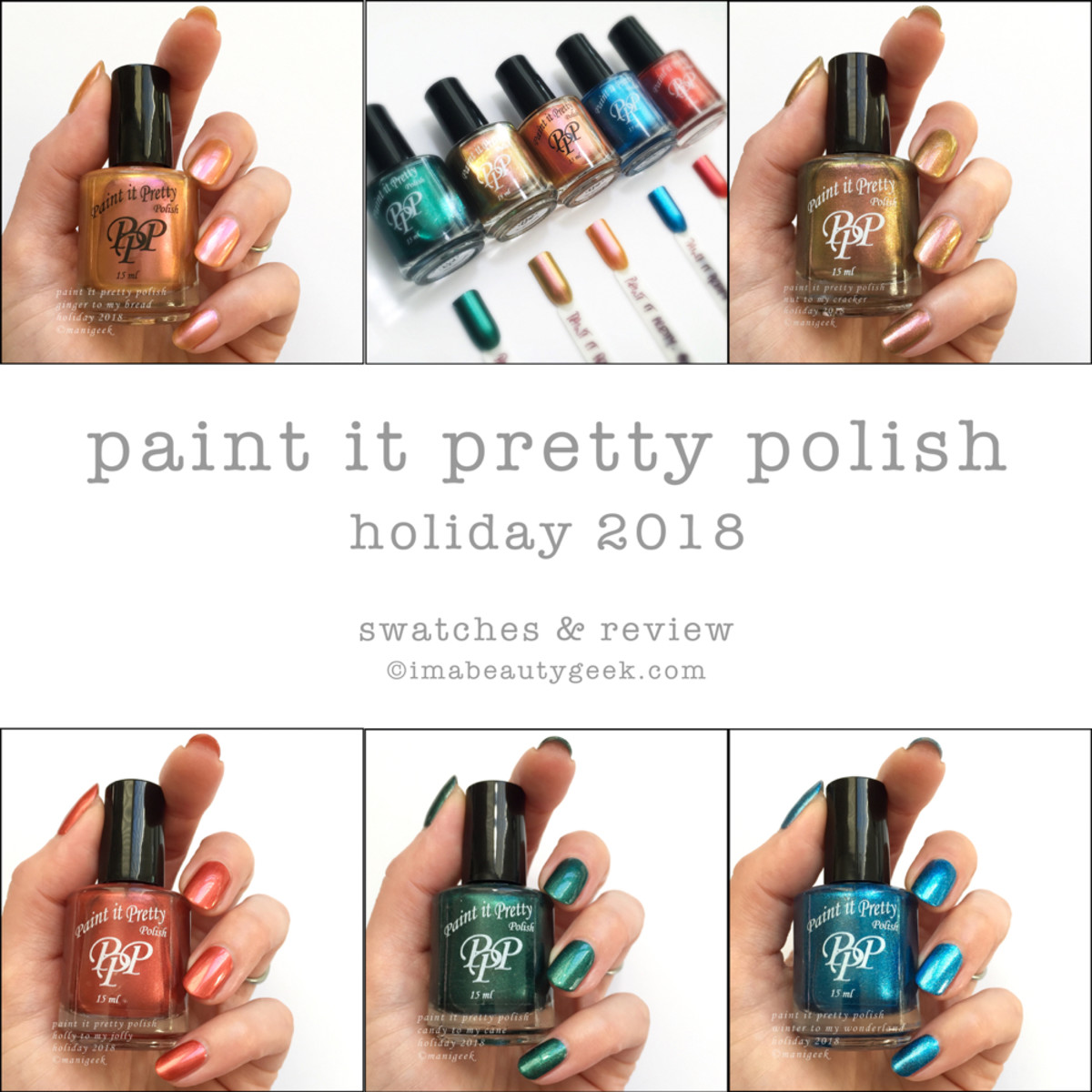 Paint it Pretty Polish Holiday 2018 Beautygeeks Composite