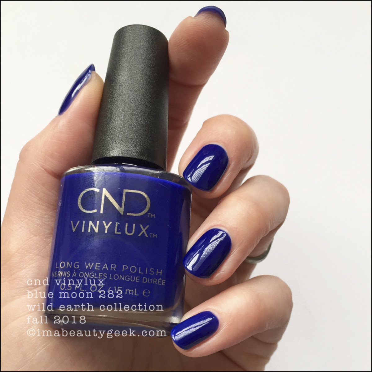 CND Vinylux Blue Moon 282 - CND Wild Earth Fall 2018