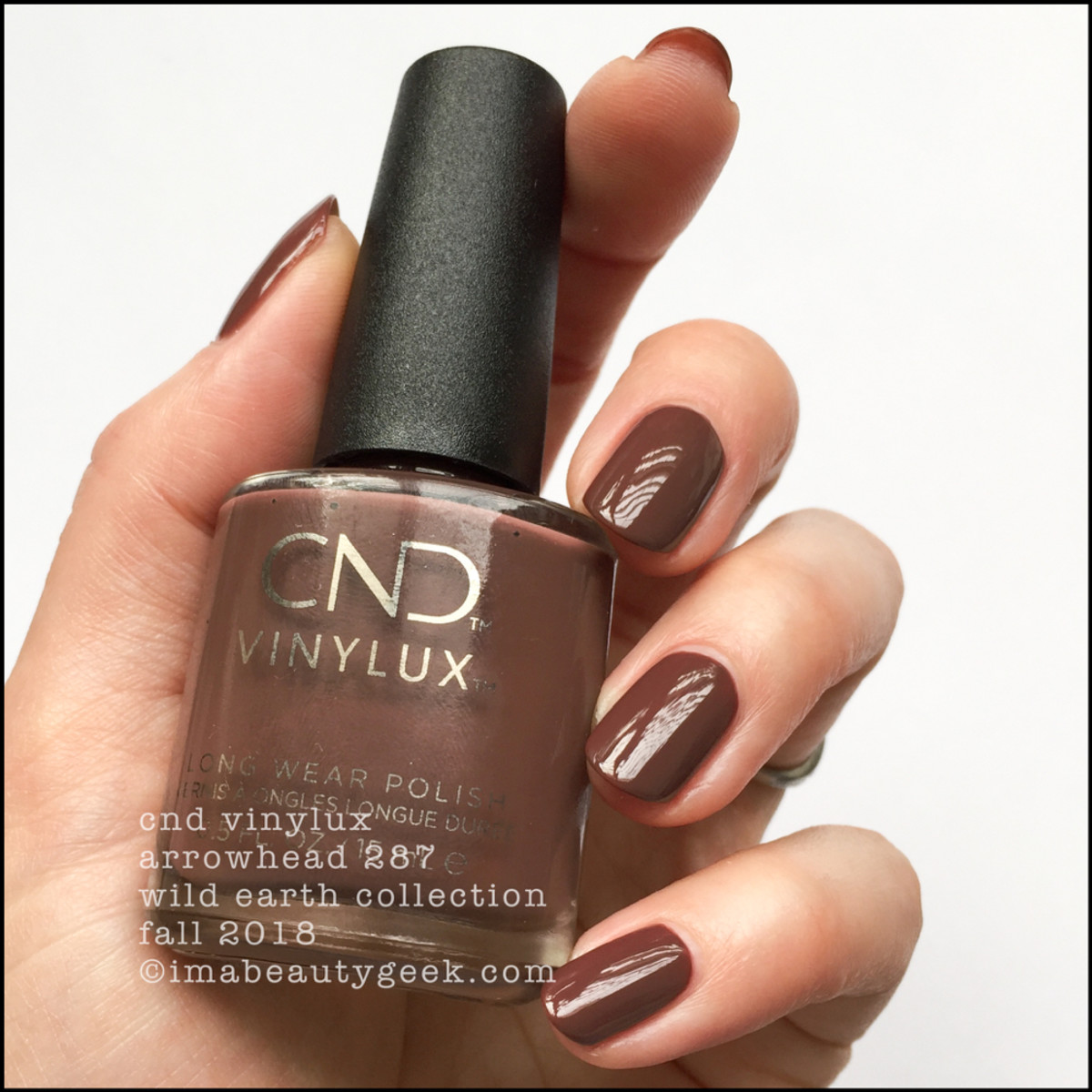 CND Vinylux Arrowhead 287 - CND Wild Earth Fall 2018