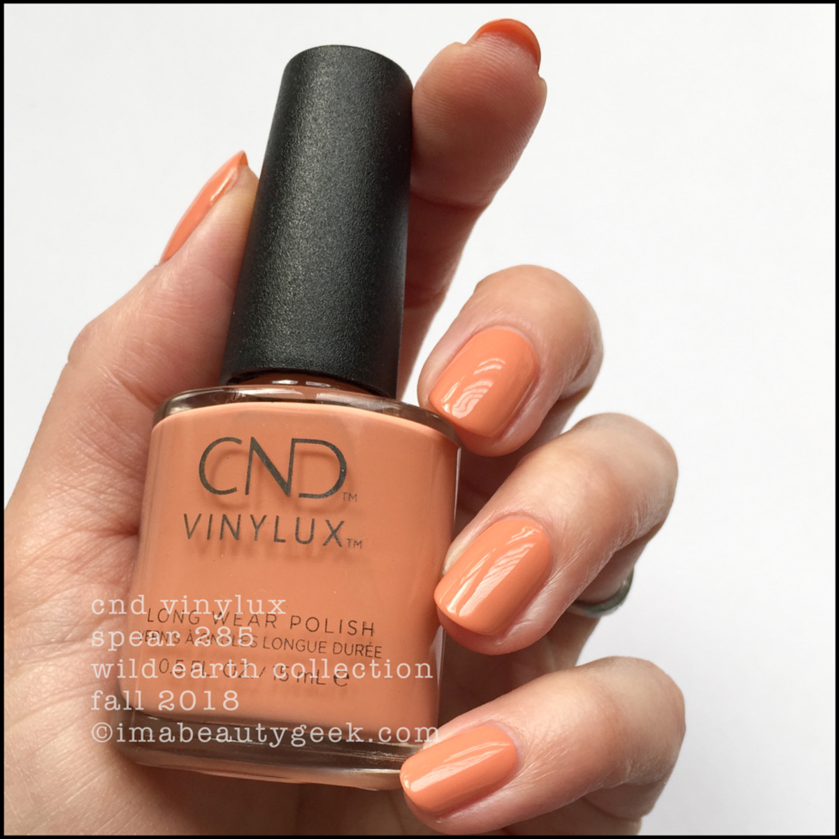 CND Vinylux Spear 285 - CND Wild Earth Fall 2018