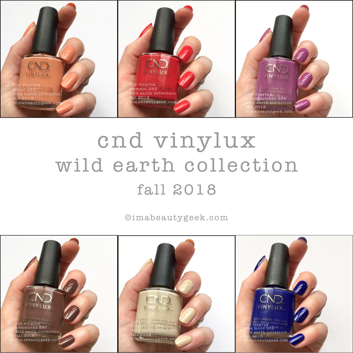 CND Wild Earth Collection Fall 2018 Beautygeeks Composite