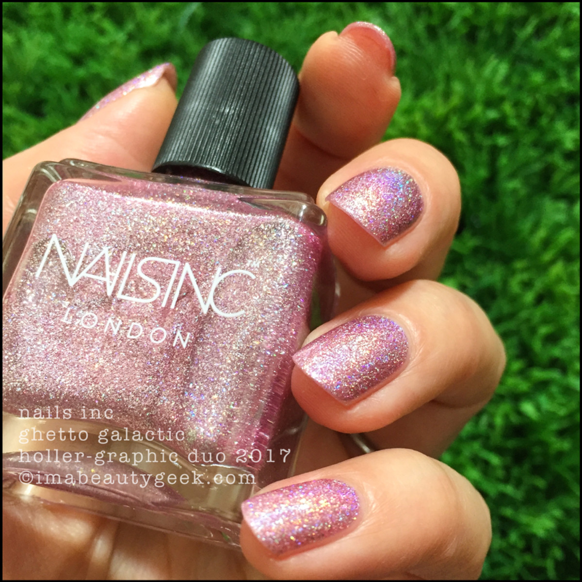 Nails Inc Ghetto Galactic Holler-Graphic Duo Swatches Review 2017 3