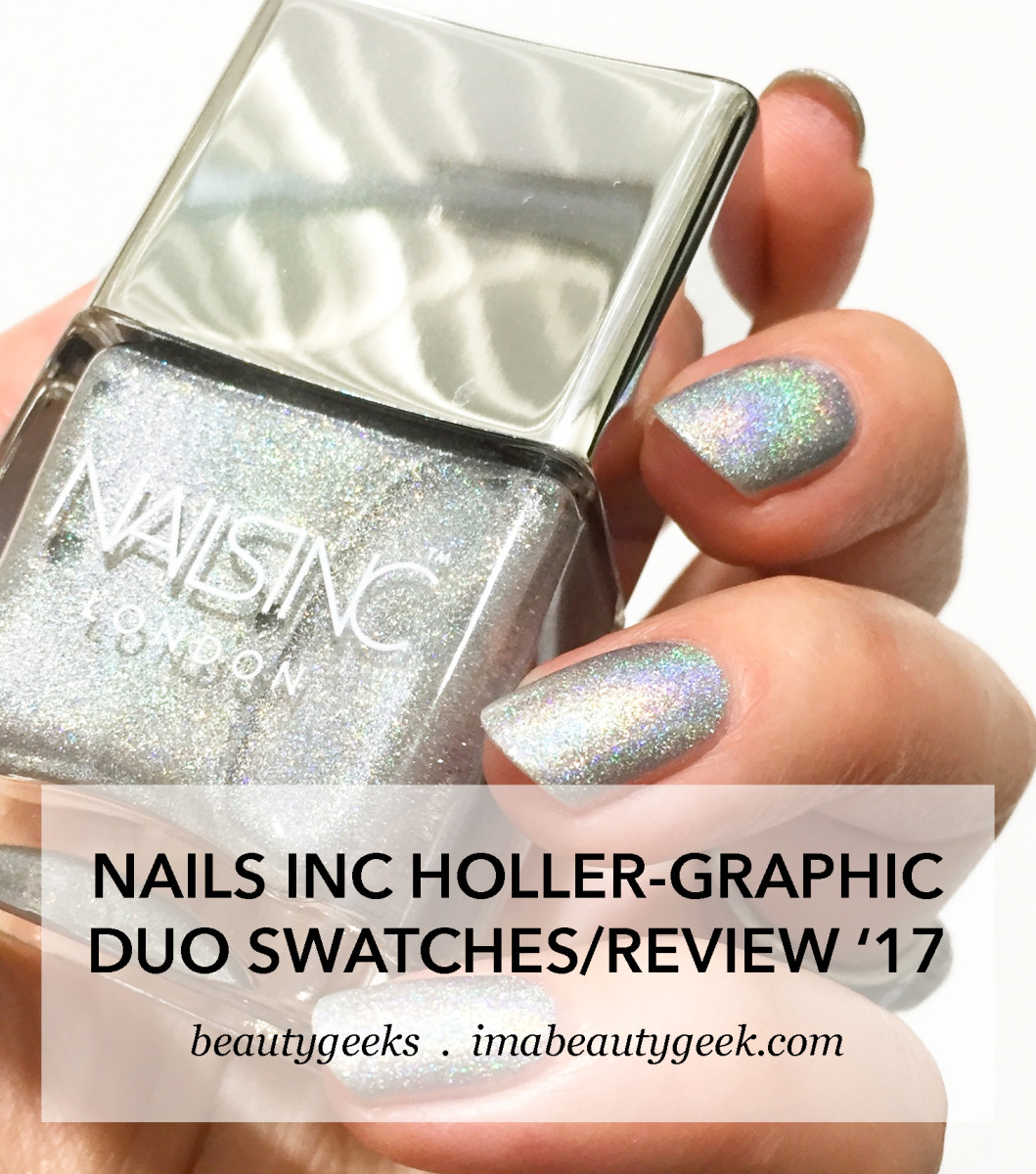 Nails Inc Holler Graphic Duo 2017 Swatches Review _ Rocket Fuel and Ghetto Galactic-BEAUTYGEEKS