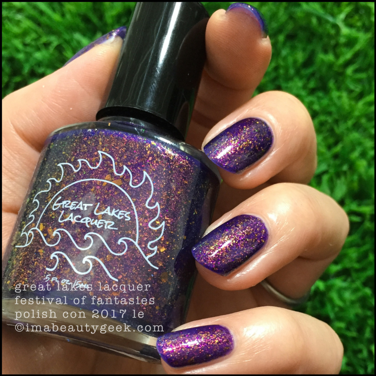 Great Lakes Lacquer Festival of Fantasies 2 _ Great Lakes Lacquer Polish Con 2017 Limited Editions