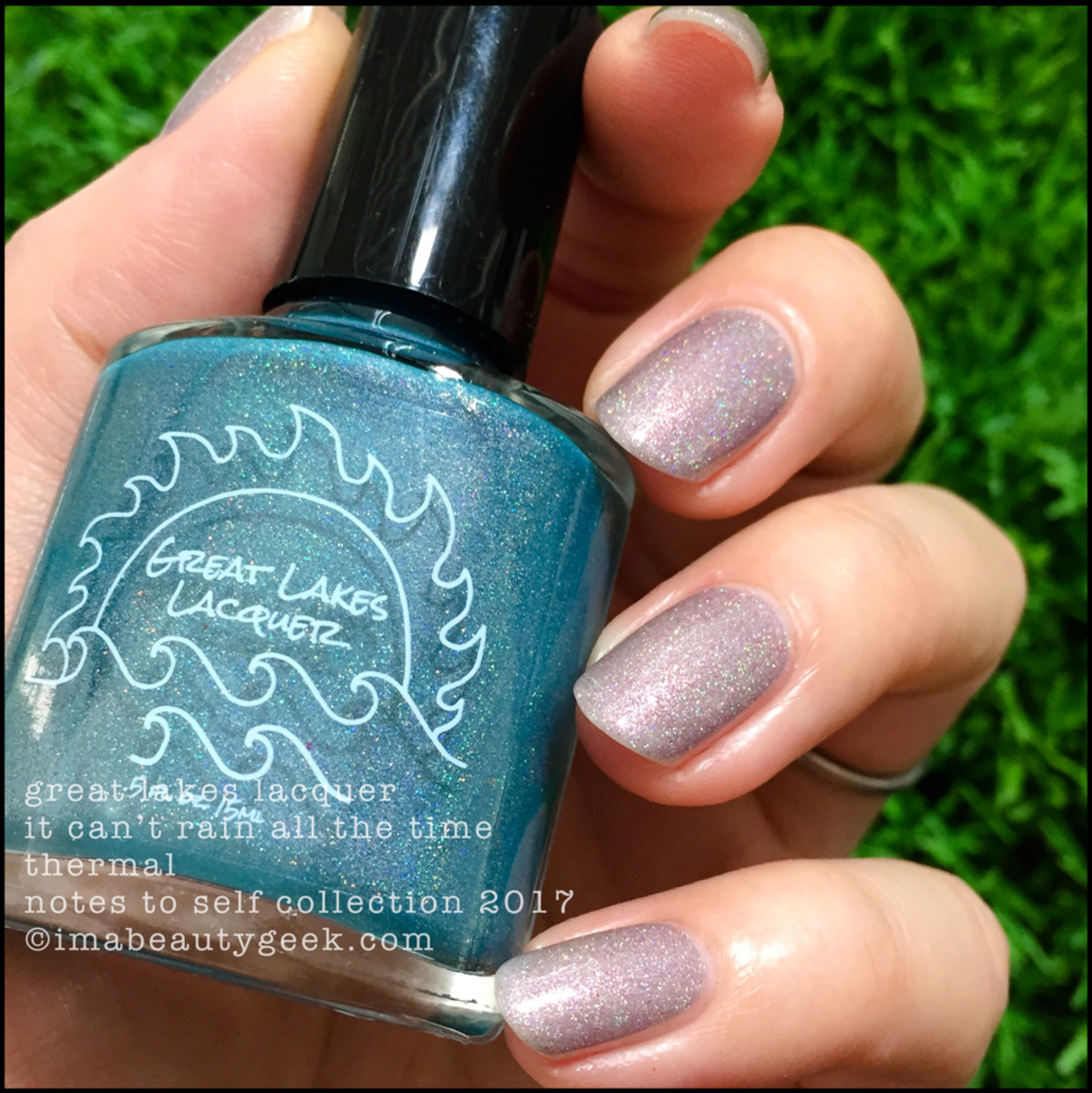 Great Lakes Lacquer It Can't Rain All The Time 5 _ Great Lakes Lacquer Notes to Self Thermal Collection 2017
