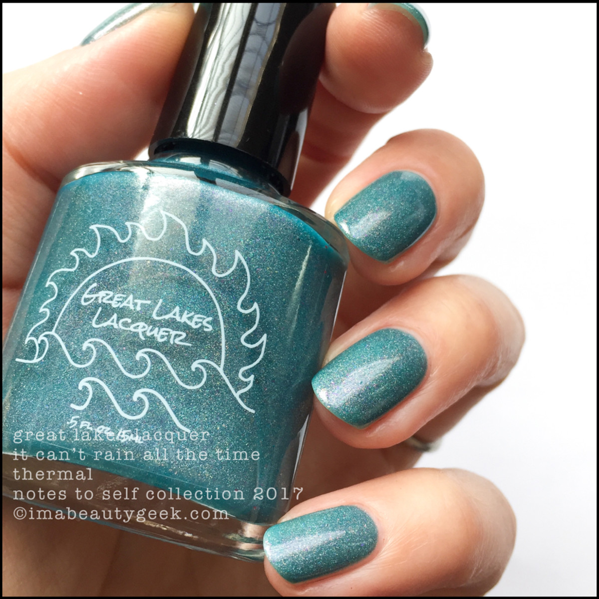 Great Lakes Lacquer It Can't Rain All The Time 1 _ Great Lakes Lacquer Notes to Self Thermal Collection 2017
