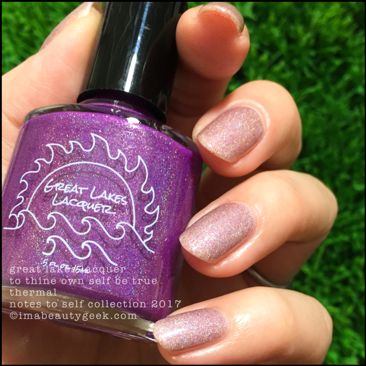 Great Lakes Lacquer To Thine Own Self Be True 3 _ Great Lakes Lacquer Notes to Self Thermal Collection 2017