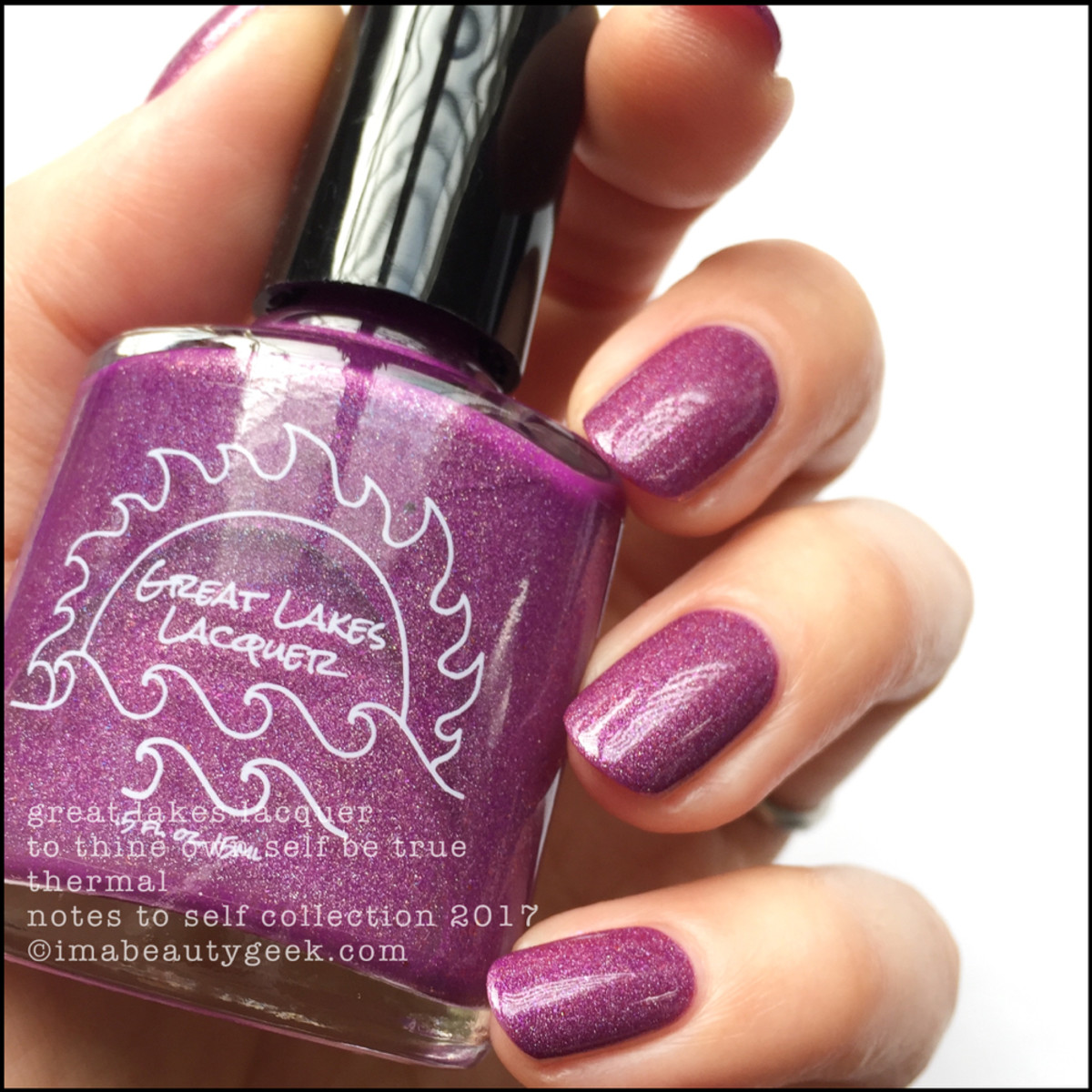 Great Lakes Lacquer To Thine Own Self Be True 1 _ Great Lakes Lacquer Notes to Self Thermal Collection 2017