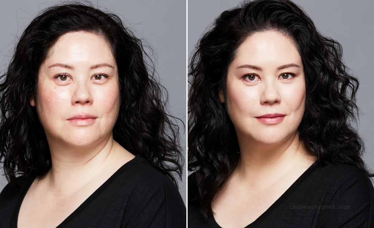Revlon Youth FX before/after. Makeup: Sabrina Rinaldi/p1m.ca. Hair: Kirsten Klontz/p1m.ca. Photography: Lily & Lilac/judyinc.