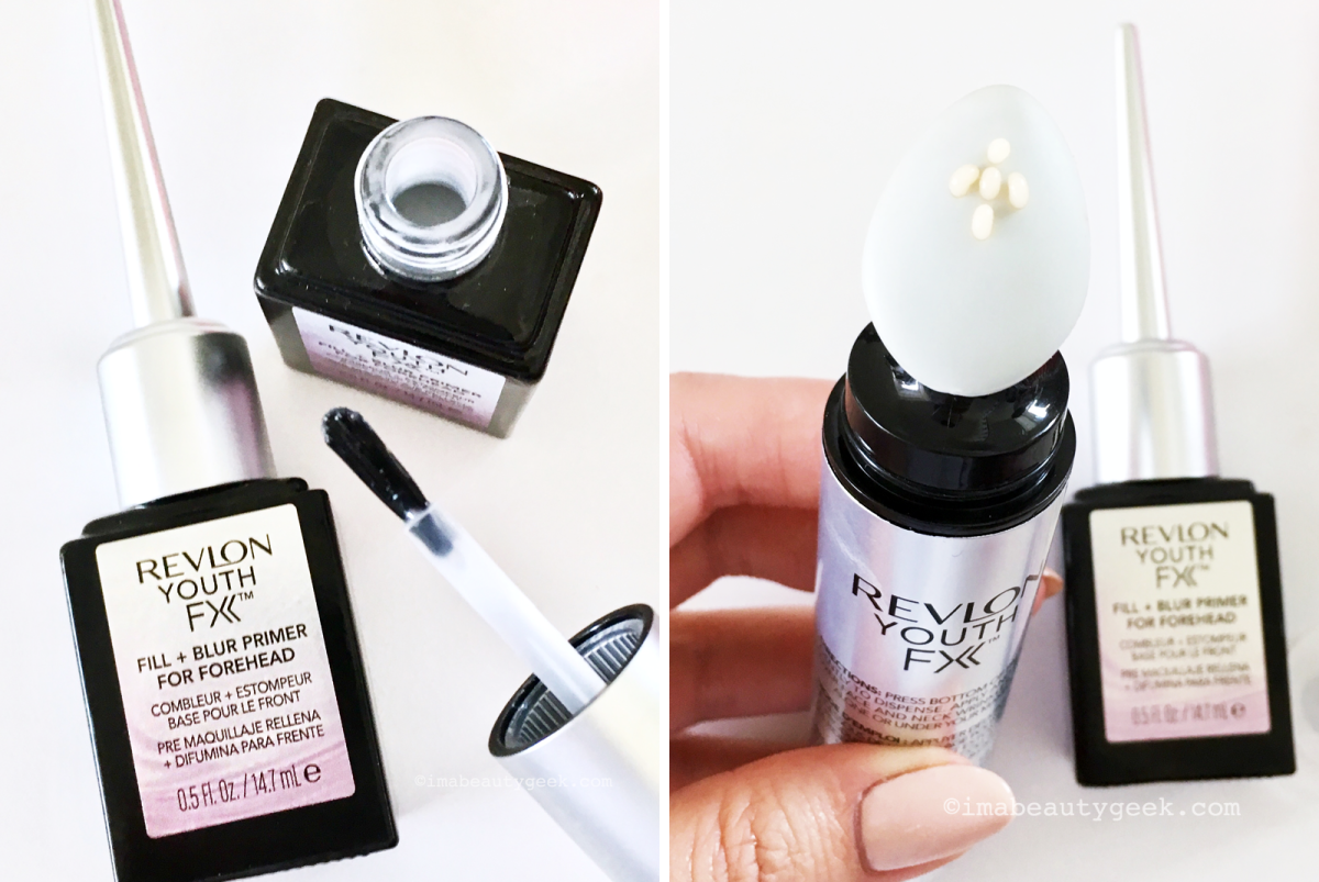 Best way to apply Revlon Youth FX Fill & Blur Primers for Forehead and for Face/Neck-BEAUTYGEEKS