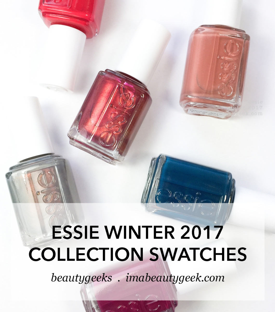 Essie Winter 2017 Collection Swatches & Review