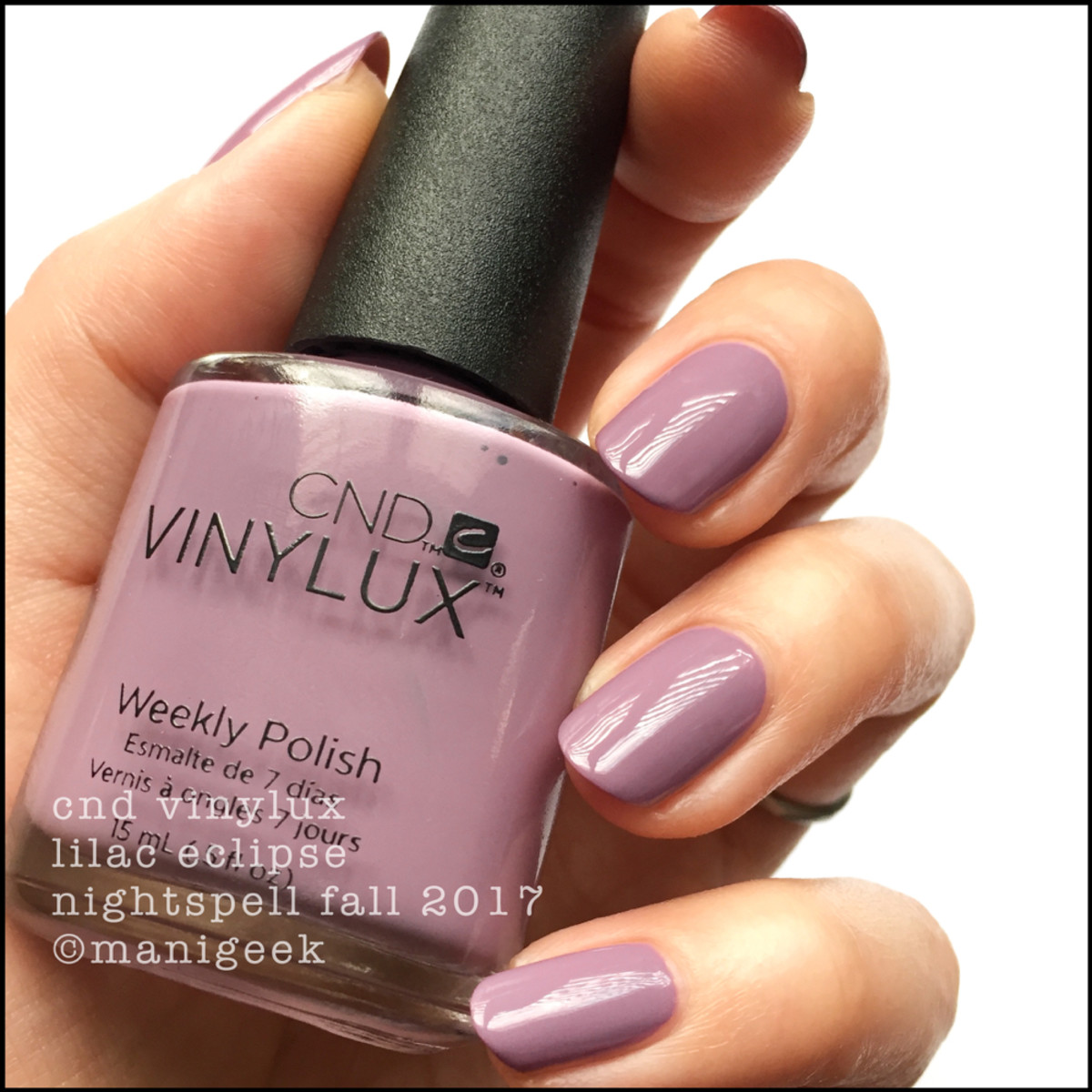CND Vinylux Lilac Eclipse - CND Vinylux Nightspell Fall 2017 Collection Swatches