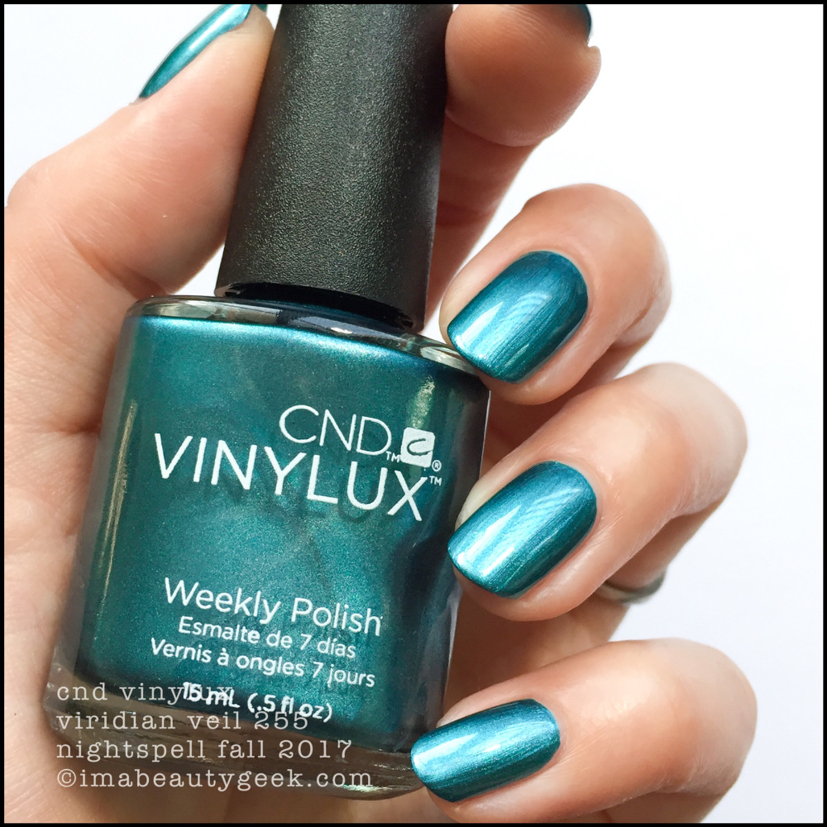 CND Vinylux Veridian Veil - CND Vinylux Nightspell Fall 2017 Collection Swatches