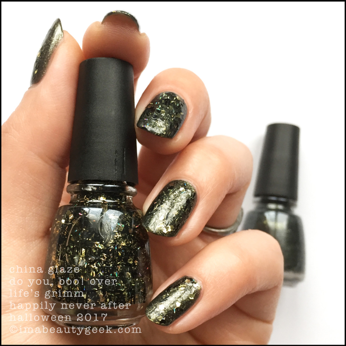 China Glaze Do You, Boo! over Life's Grimm _ China Glaze Happily Never After Collection Halloween 2017