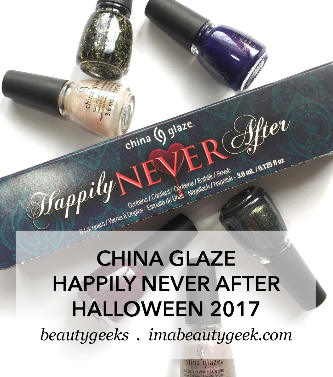China Glaze Happily Never After Collection, Halloween 2017-BEAUTYGEEKS
