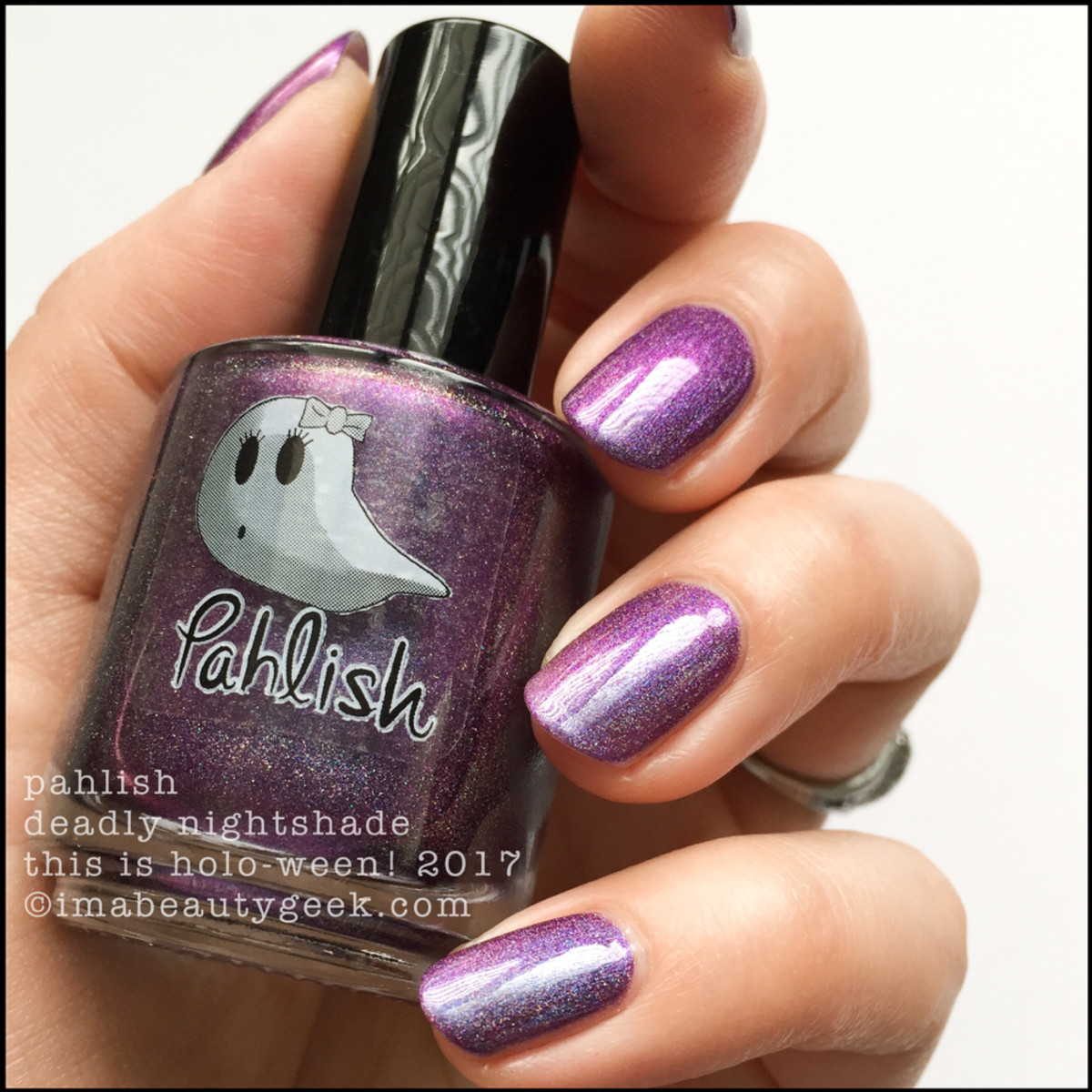 Pahlish Deadly Nightshade - This is Holo-ween! 2017