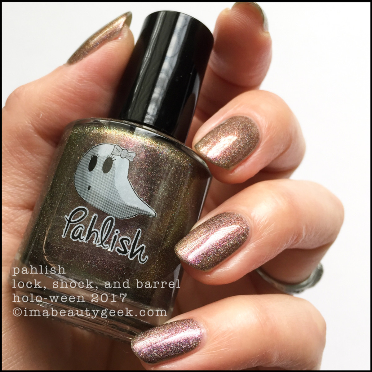 Pahlish Lock, Shock, and Barrel 1 - This is Holo-ween! 2017