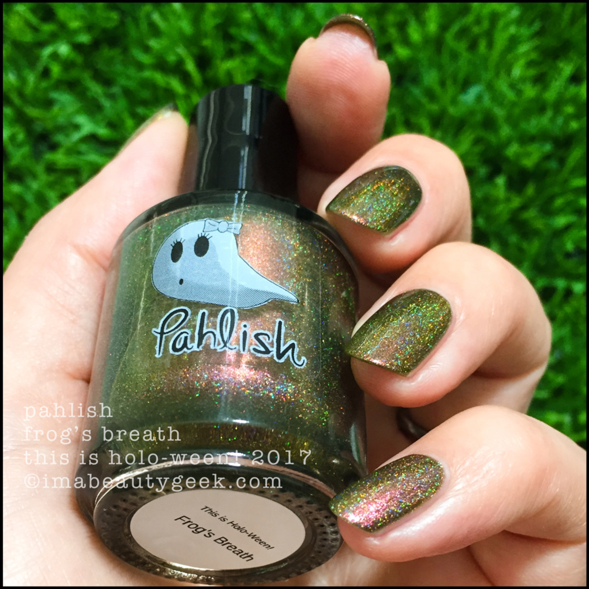 Pahlish Frog's Breath 2 - This is Holo-ween! 2017