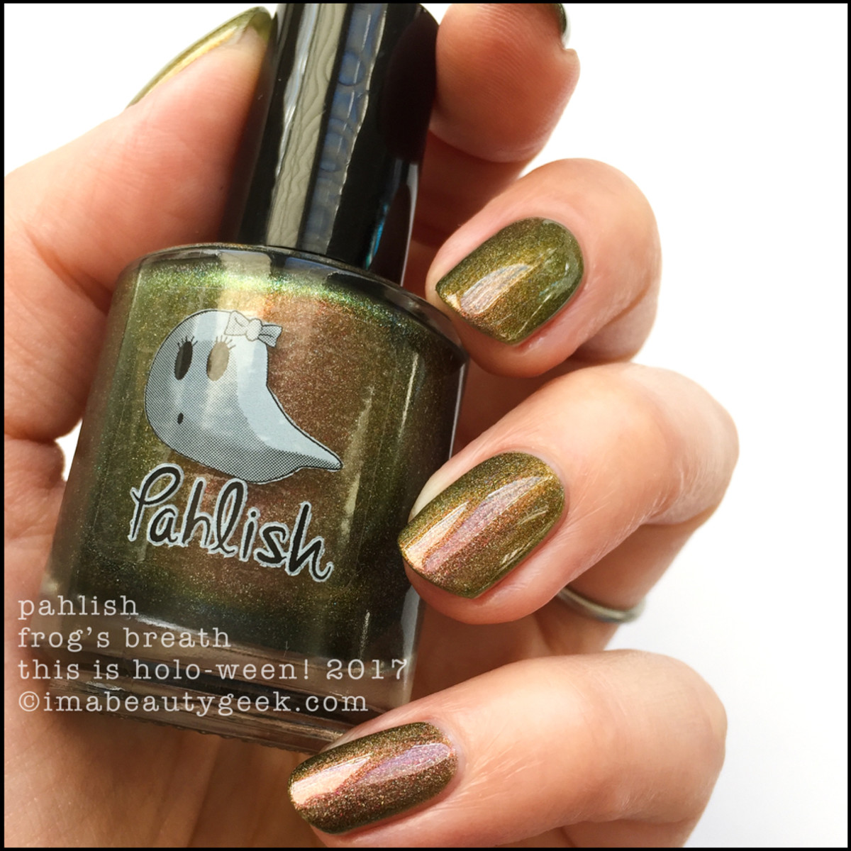 Pahlish Frog's Breath - This is Holo-ween! 2017
