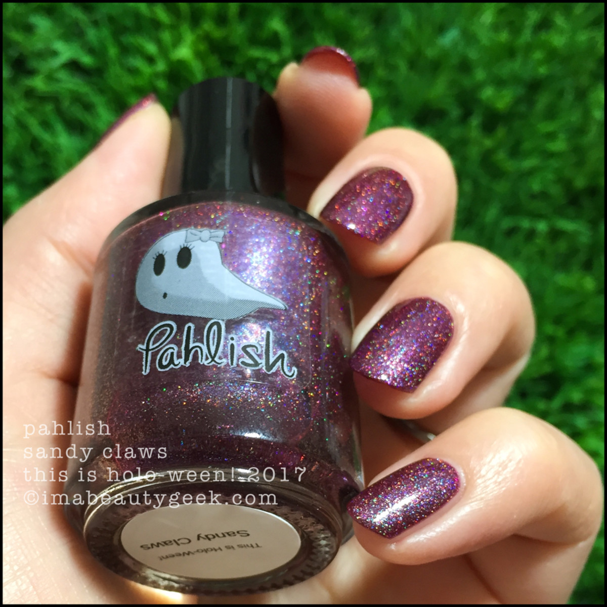 Pahlish Sandy Claws 2 - This is Holo-ween! 2017