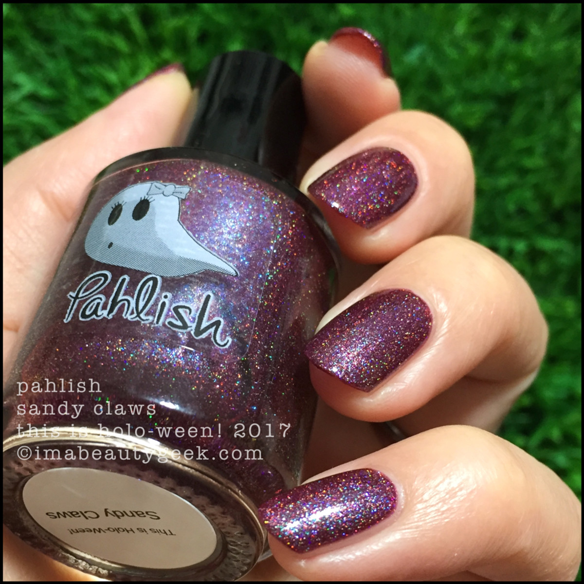Pahlish Sandy Claws 3 - This is Holo-ween! 2017