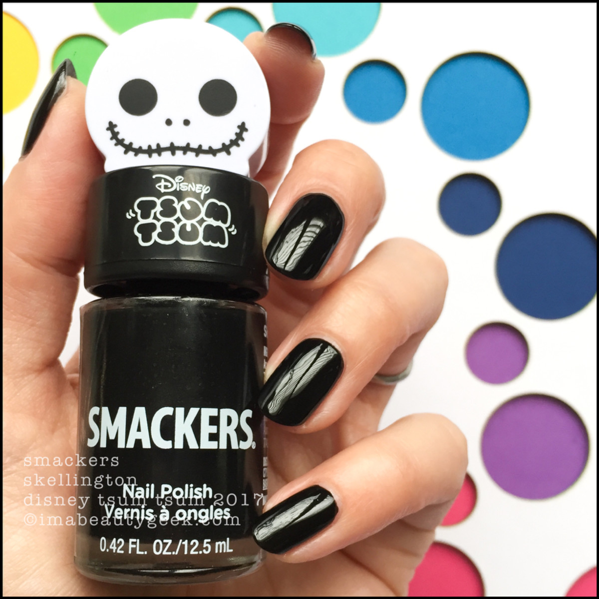 Lip Smackers Tsum Tsum Polish Skellington