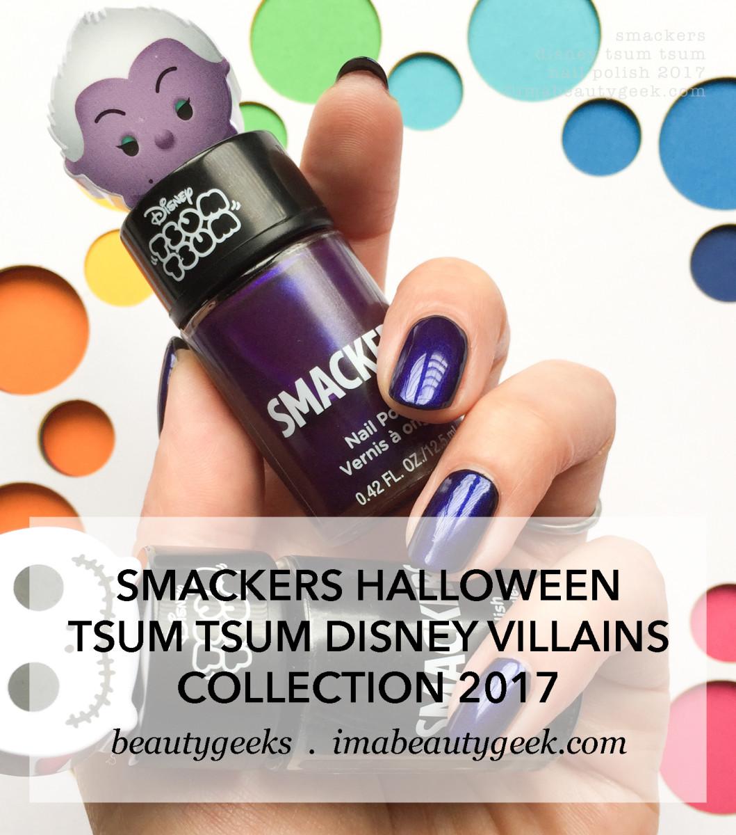 Smackers Halloween Tsum Tsum Disney Villians 2017