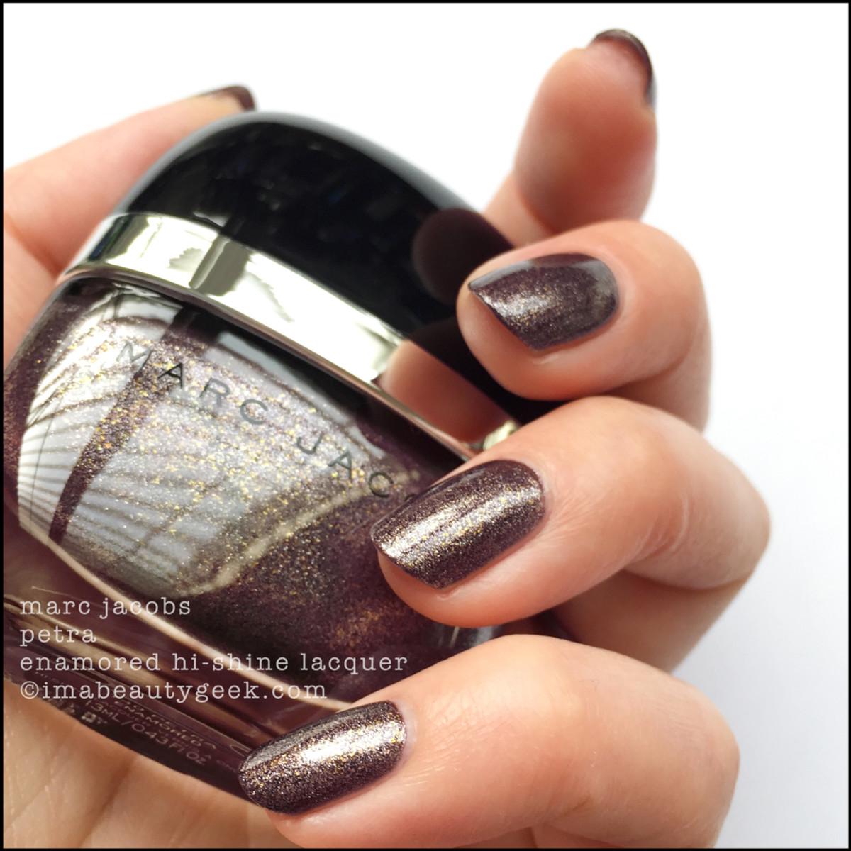 Marc Jacobs Petra Enamored Nail Polish Swatches 1