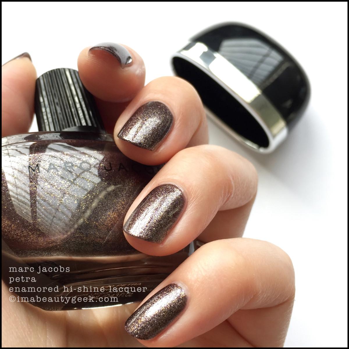 Marc Jacobs Petra Enamored Nail Polish Swatches 2