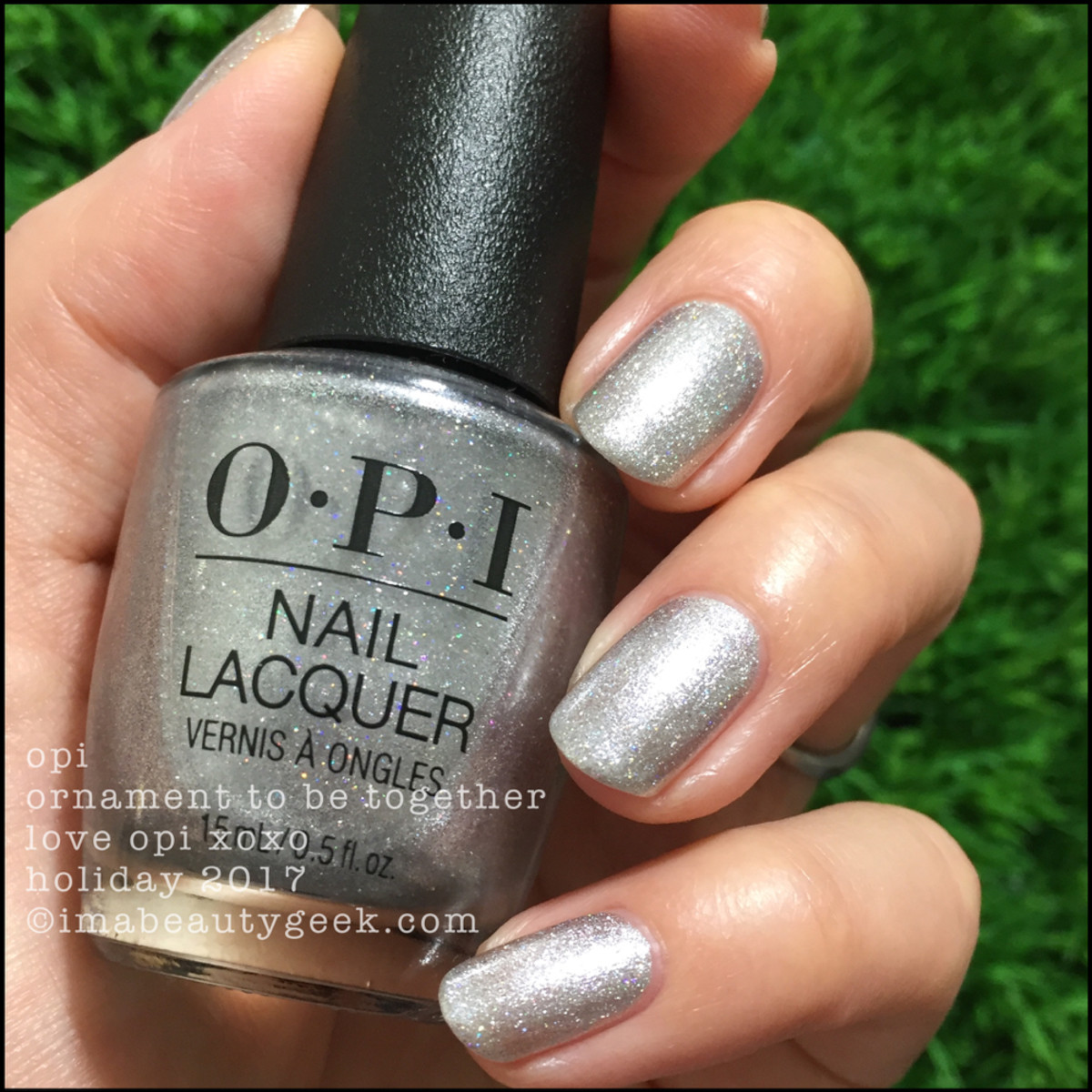 OPI Ornament To Be Together 3 - Love OPI XOXO Holiday 2017 Collection