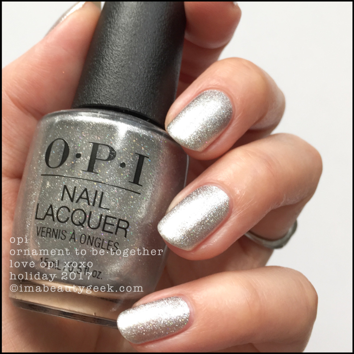 LOVE OPI XOXO SWATCHES REVIEW HOLIDAY 2017 - Beautygeeks