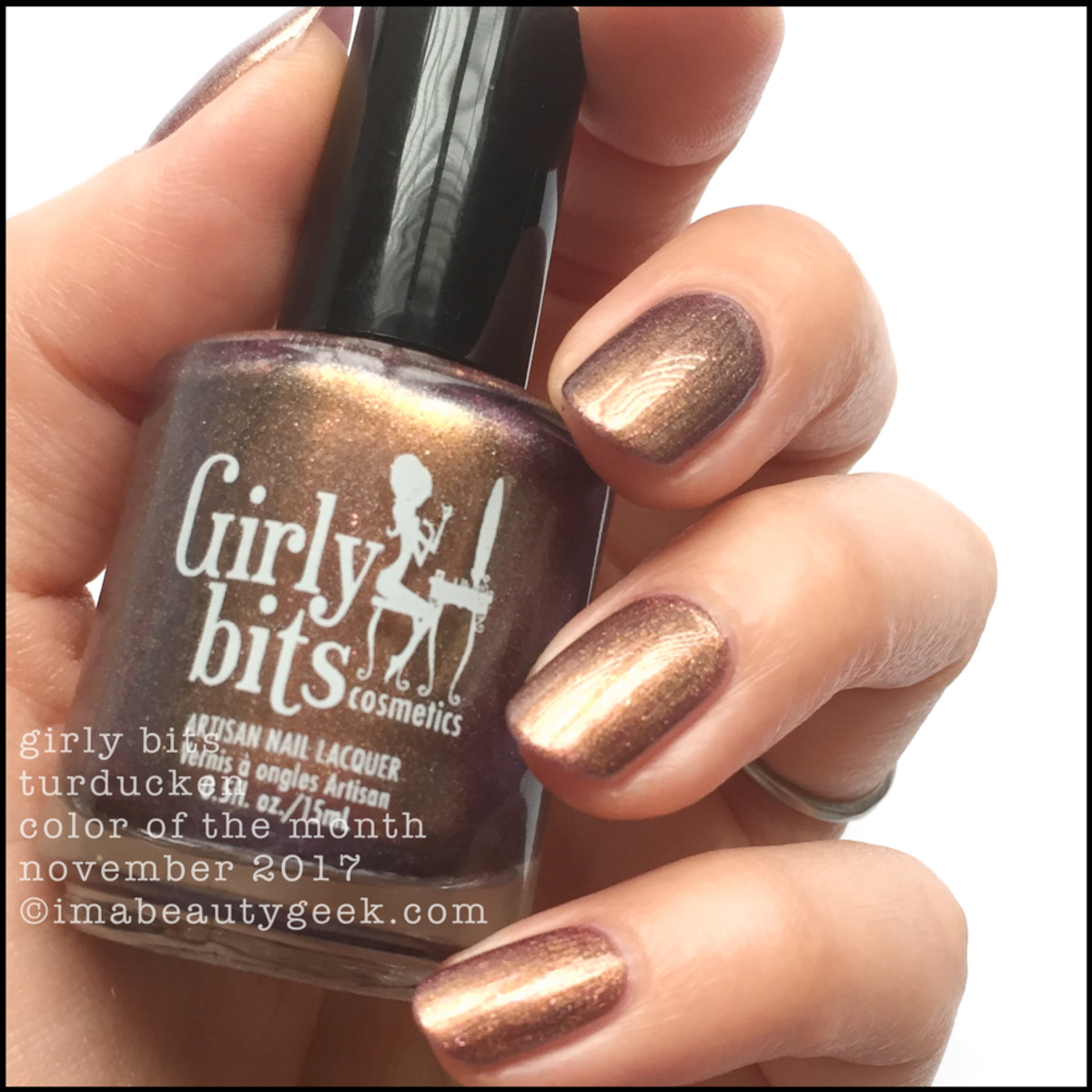 Girly Bits Turducken COTM _ Girly Bits LE Colour of the Month Nov 2017