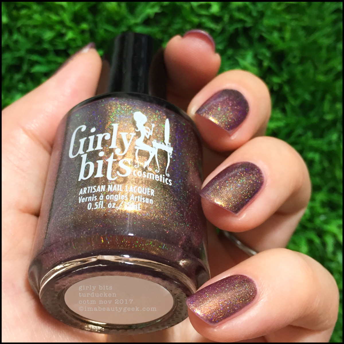 Girly Bits Turducken COTM 5 _ Girly Bits LE Colour of the Month Nov 2017