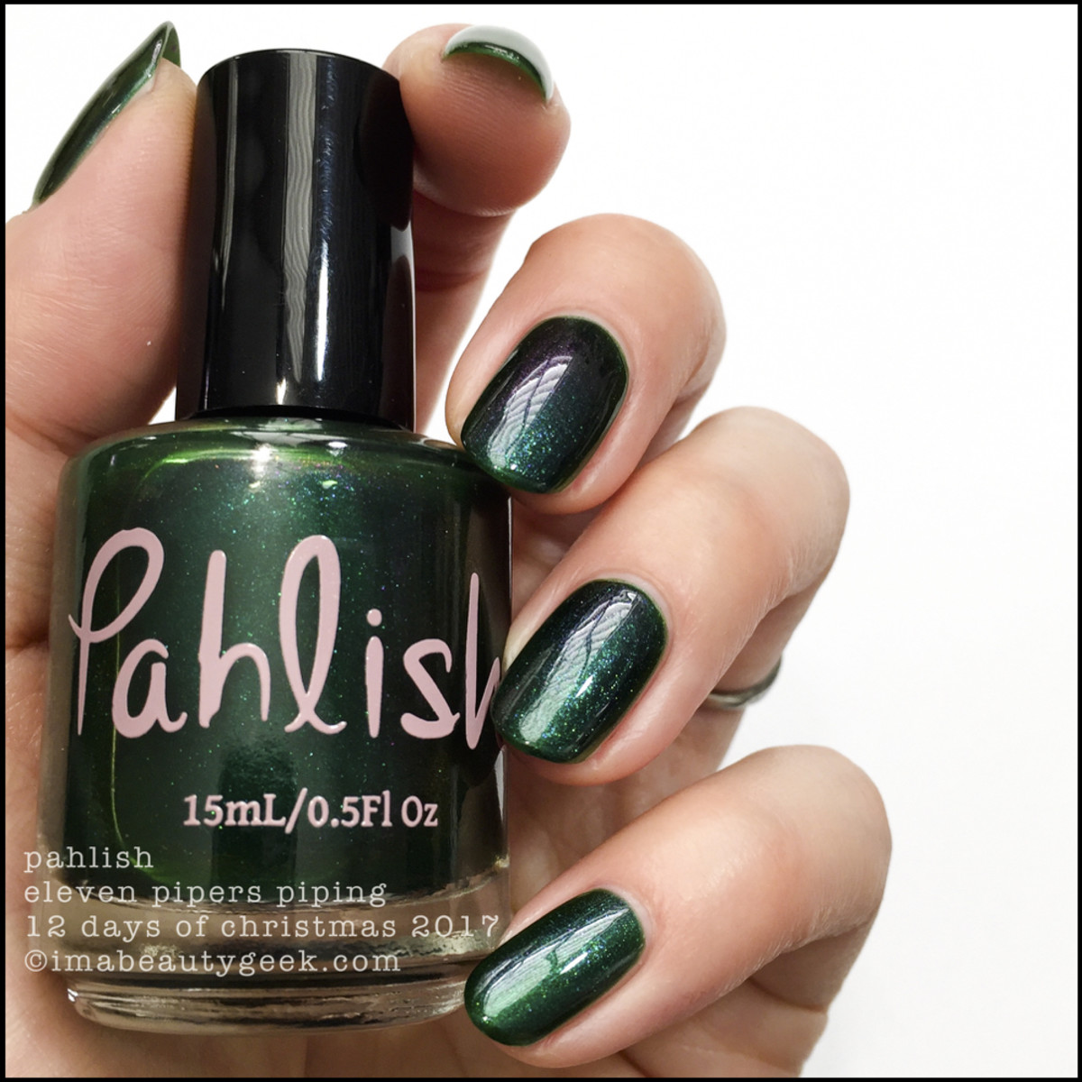 Pahlish Eleven Pipers Piping - Pahlish 12 Days of Christmas 2017 1
