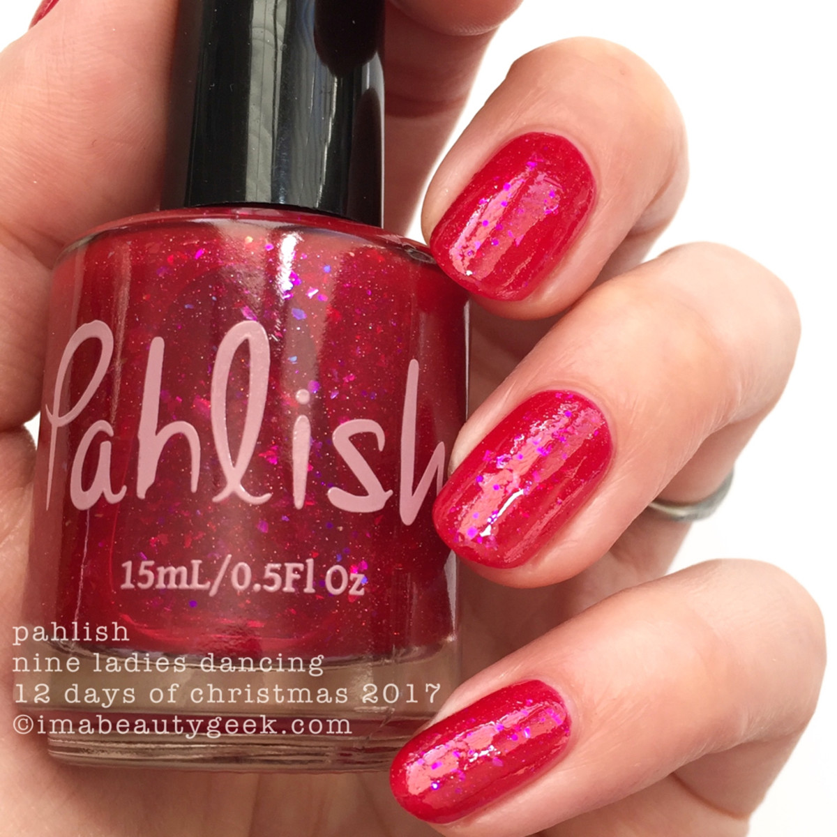 Pahlish Nine Ladies Dancing - Pahlish 12 Days of Christmas 2017 2