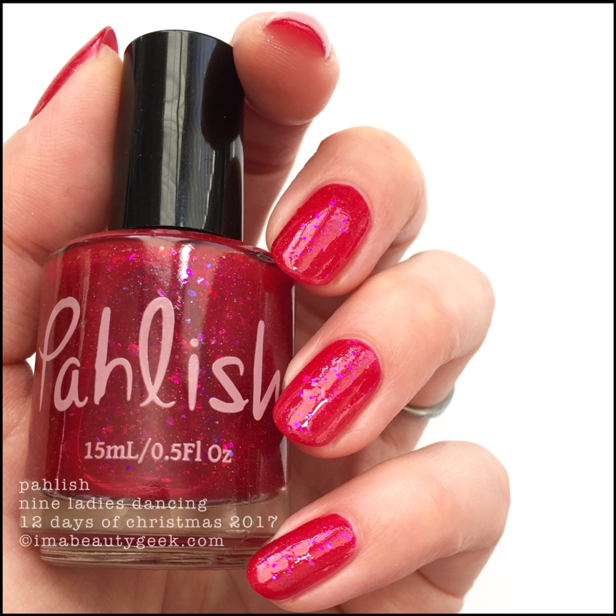 Pahlish Nine Ladies Dancing - Pahlish 12 Days of Christmas 2017 1