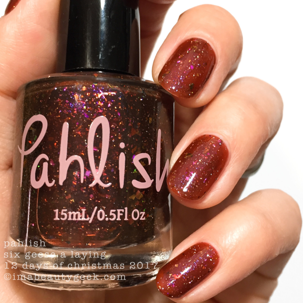 Pahlish Six Geese a Laying - Pahlish 12 Days of Christmas 2017 2