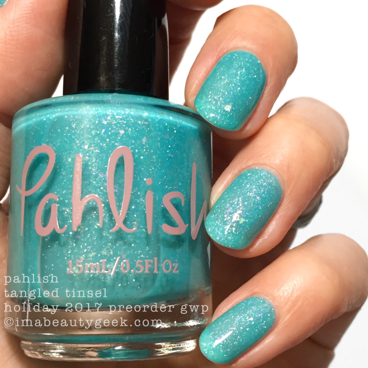 Pahlish Tangled Tinsel GWP 2 - Pahlish 12 Days of Christmas 2017