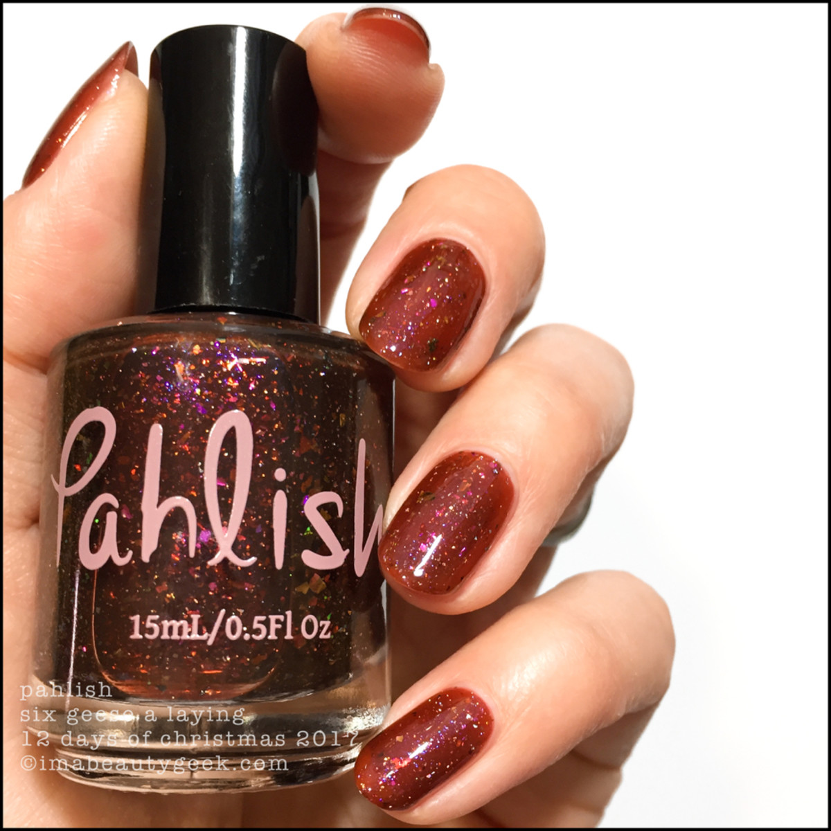 Pahlish Six Geese a Laying - Pahlish 12 Days of Christmas 2017 1